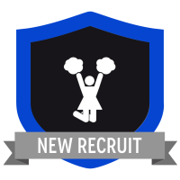 "Badge icon ""Cheerleader (826)"" provided by Marie Coons, from The Noun Project under Creative Commons - Attribution (CC BY 3.0)"