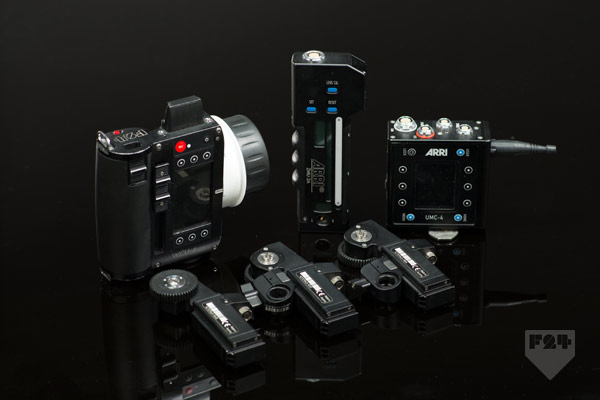 Arri Wcu 4 3 Channel Kit Lens Control Rental A