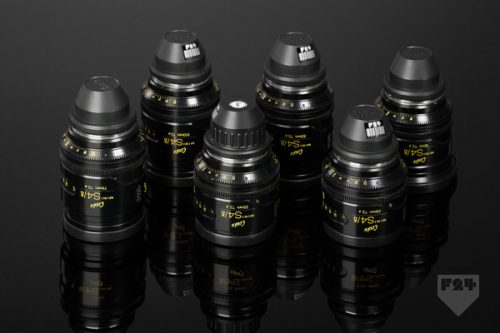 Cooke Mini S4 I Set T2 8 Lens Rental A