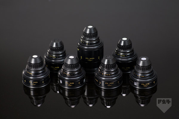 Cooke Speed Panchro Set T2 2 T2 8 Lens Rental A