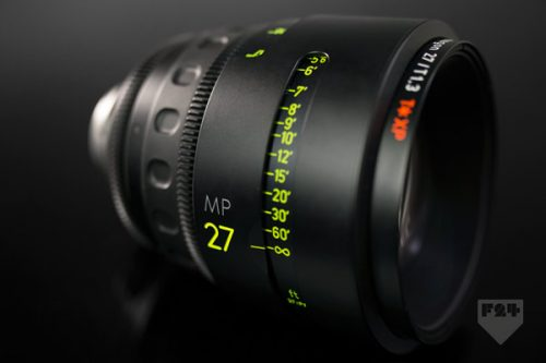 Zeiss Master 27mm T1 3 Lens Rental B
